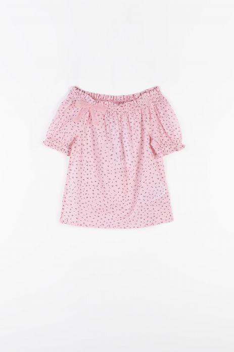 Блузка з короткими рукавами