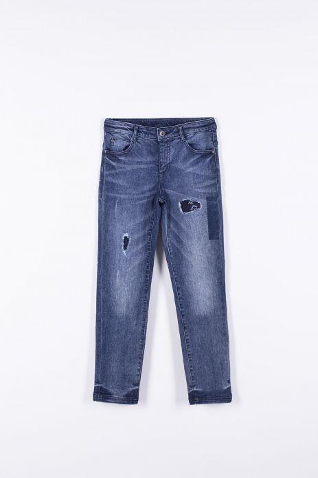 Джинсові штани