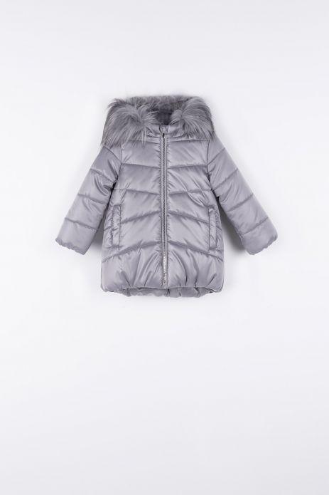 Пальто утеплена