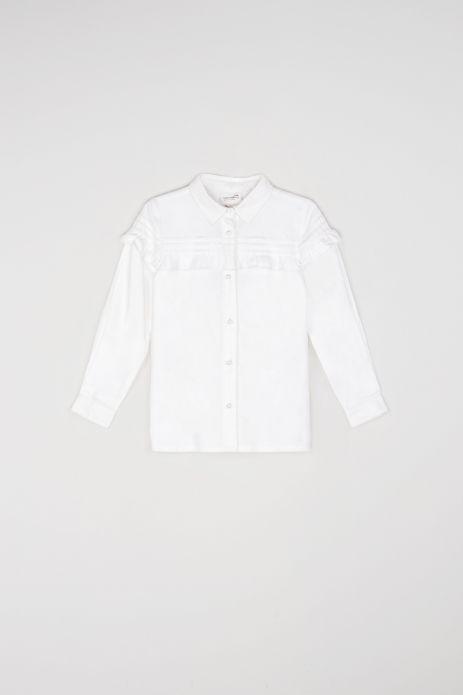 Блузка з довгими рукавами